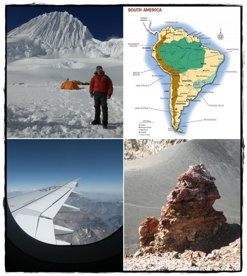 exploring the South American Andes