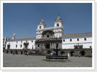 historic center of Quito